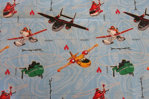 1 2 yard of 100 cotton airplane fabric for Airplane fabric by the yard
