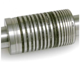 80mm Rolling Mill Pattern Roll Design # 59 From 0.7 to 4.4mm Wide Jewelry WA 303-003-59