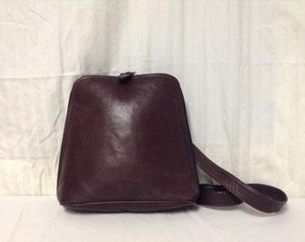 Free Ship J.Jill Leather Purse Brown Soft Shoulder Bag