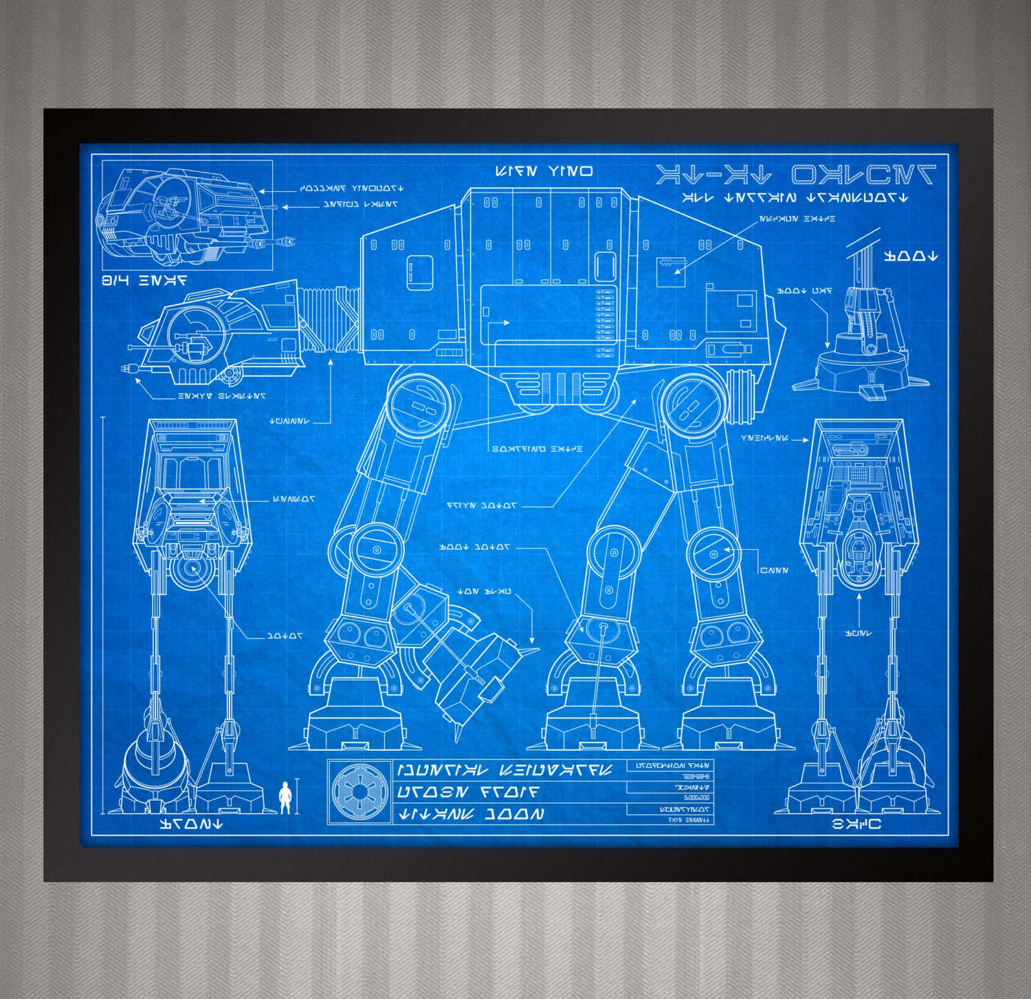 Star Wars Blueprint Style At