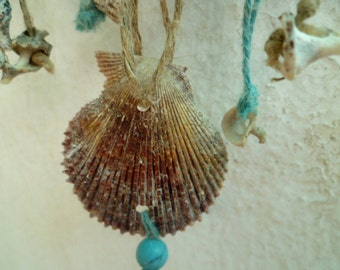 Natural necklace, Mediterranean style