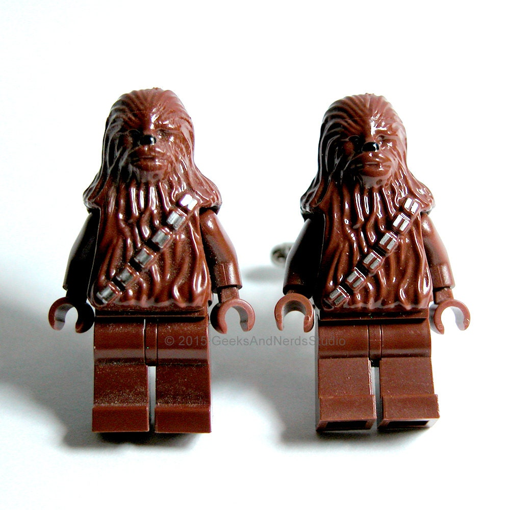 Lego Star Wars Chewbacca Cufflinks Mens Cufflinks