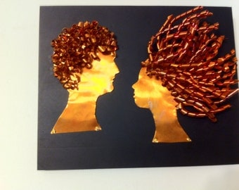 Copper Silhouettes Style 5