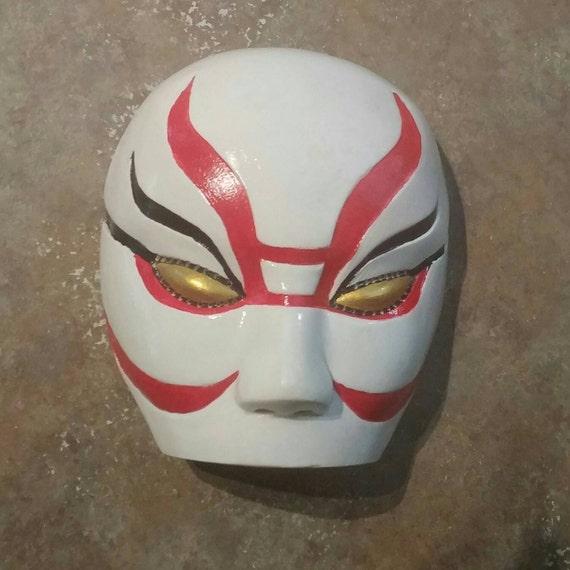Kabuki Face Paint Hero And Villain