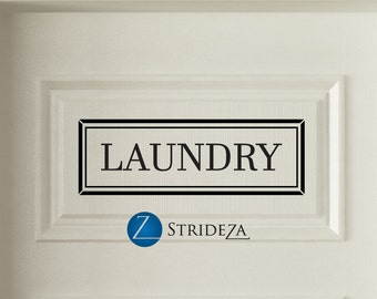 Laundry decal, Laundry wall decal, Laundry decor, Laundry room decor, Laundry room sign, Laundry sign, Laundry sticker, D00206