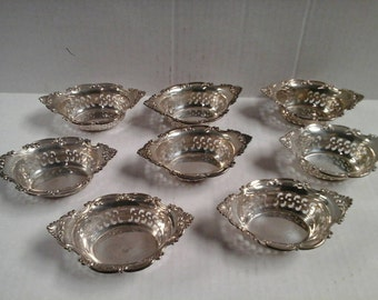 Gorham sterling nut dishes