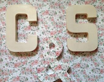 Custom decorative letters