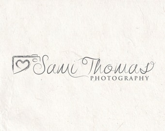 Photography logo - premade logo design - photography Watermark camera logo. Instant download digital download psd file