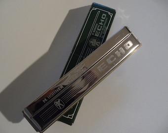 Hohner harmonica,harmonica echo G,musical instruments,Hohner Germany,german mouth organ,mouth organ