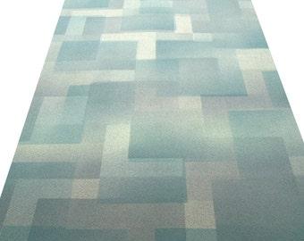 1970s Maze in Heaven Geometric Vintage Original Wallpaper Mid Century Modern