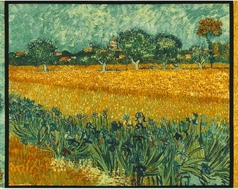 GARDEN by Van Gogh Museum from Vincent Van Gogh from Robert Kaufman Fabric by the Panel