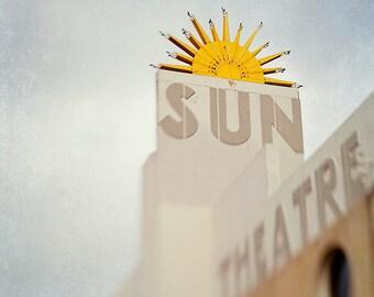 The Sun Theatre   - Urban Photography - Home Decor - Wall Art - Retro Art - Vintage Wall Art