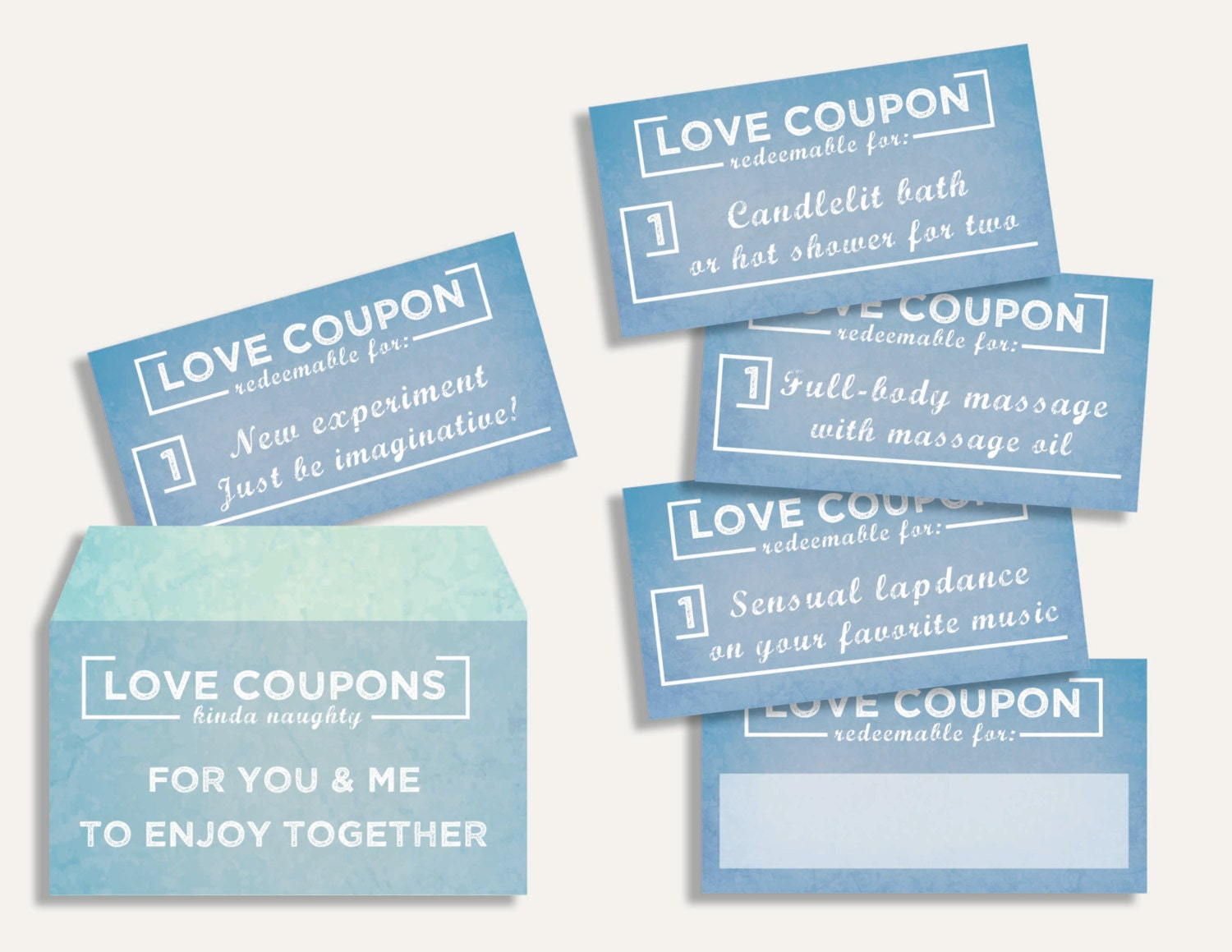 Romantic coupons for wife