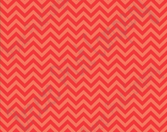 Red and light red chevron craft  vinyl sheet - HTV or Adhesive Vinyl -  zig zag pattern HTV6000