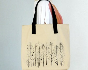 Beige  tote bag,hand painted tote,wearable art,chic tote bag,cotton canvas bag,tote with art painted,tote with strap,laptop bag for women