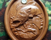 Large Mouth Bass Clock ~ ...