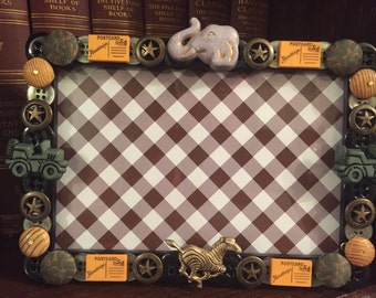 SALE Safari picture frame