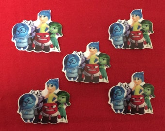 Set of 5 Inside Out Resin