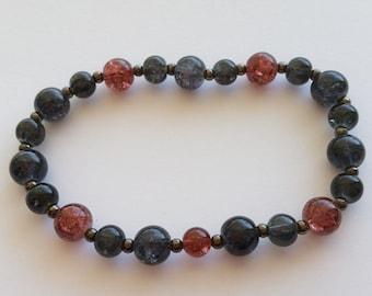 HAWKEYE inspired stretch bracelet