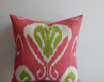 Kravet ikat designer,18x18-19x19-20x20, pillow or pillow cover, decorative pillow,accent pillow,throw pillow ,same fabric front and back