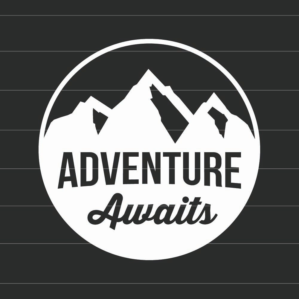 Adventure Awaits Vinyl Decal Sticker Choose Your Own Color - Make your own car decal