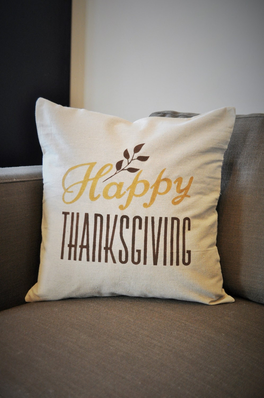 Fall Pillow Cover Thanksgiving pillow cover Fall Decor