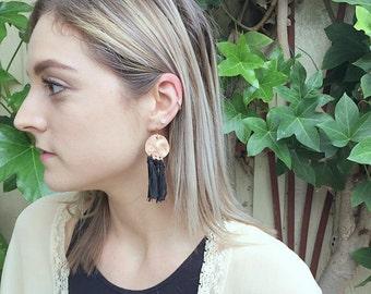 Behati Tassle Earrings