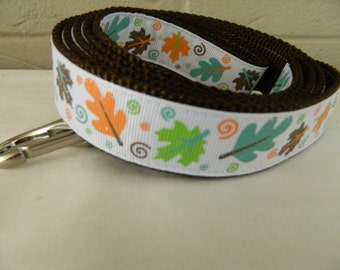 Autumn Leaf Sparkle Dog Leash