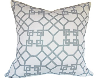 Kravet Windsor Smith Pelagos Decorative Pillow Cover - Throw Pillow - Toss Pillow - Both Sides - All Sizes Available