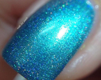 Oceans Holo - holographic nail polish - indie nail polish - makeup - manicure - holo nail polish - handmade - indie makeup