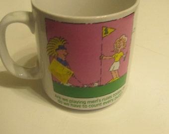 A Ladies Golf Mug