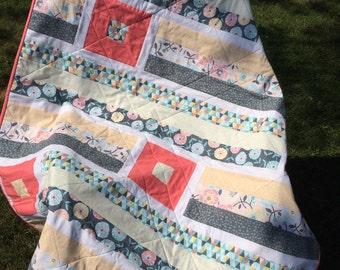 Breezy Quilt KIT, Timeless Treasures Imogen Collection, DIY