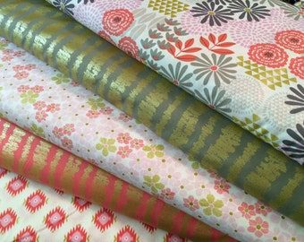 Garden Glitz METALLIC Bundle from Michael Miller Fabrics