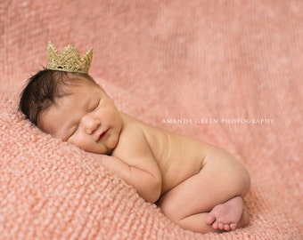 New Princess, Gold Lace Crown, Golden Crown, Lace Crown, Newborn Photo Prop, Newborn Picture, Newborn Crown, Newborn Gold Lace Crown