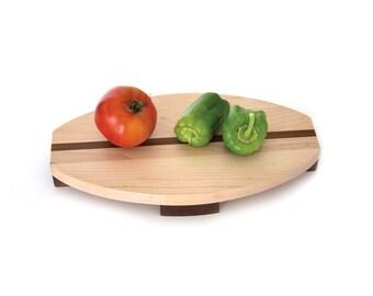 Cutting board. Maple. Serving board. Cheese board. Bread board. Housewarming gift. Anniversary gift. Wedding Gift. Minimalist cutting board.