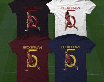 Kyle Beckerman T-Shirt - Real Salt Lake Player - Size S to Xxxl - Custom Apparel soccer,  USMNT tshirt, beckerman tee, Rsl shirt