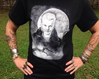 the lost boys t shirt/kiefer sutherland/david lost boys t shirt/lost boys fan art t shirt