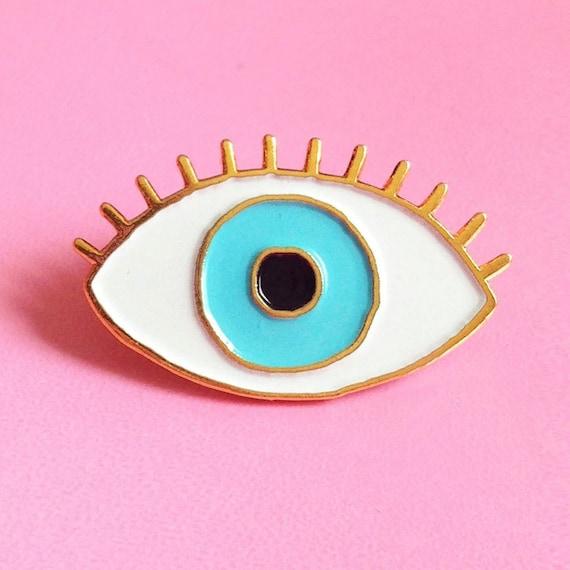 pin the blue eye - photo #1
