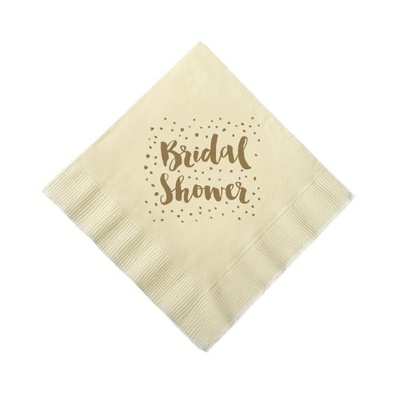 Custom Wedding Cocktail Napkins Bridal Shower By Splendidsips