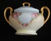 Beautiful Vintage German made Sugar Bowl