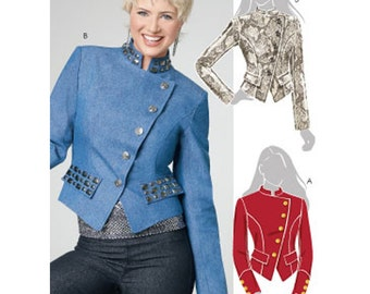 McCall's Sewing Pattern M6170 Misses' lined Jacket Size:  AA  6-8-10-12  Uncut