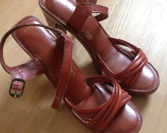 Wild Pair Leather Heels