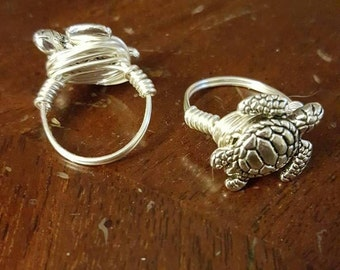 Westley The Friendly Turtle Ring