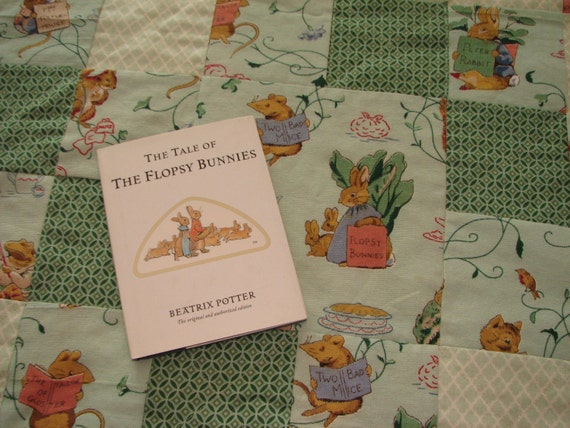 Peter Rabbit Baby Gift Sets : Beatrix potter quilt gift set peter rabbit by