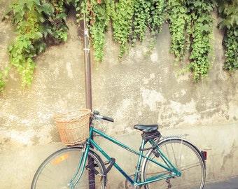 Paris Photography, Fine Art Photography, Paris Decor, Paris, Bicycle, Bike, Charming, Photography, Home Decor, Bicycle Art