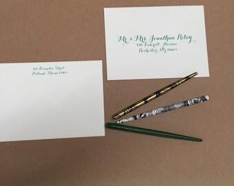PDF dowload Wedding  addresses guest list - invitation envelope calligraphy, guest address calligraphy, return address, printed envelopes, v