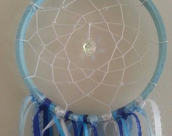 Medium Blue Hues Dreamcatcher/suncatcher
