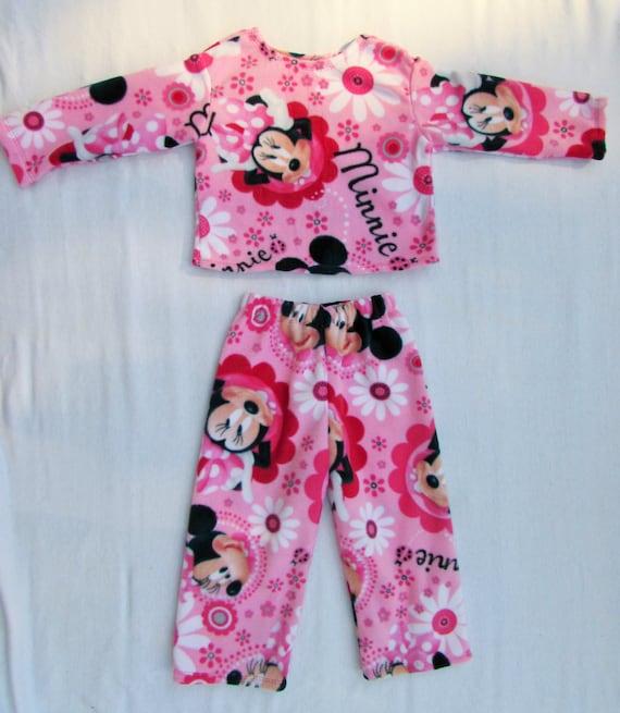 Minnie Mouse fleece pajamas,girls fleece pajamas,girls warm pajamas,hello kitty fleece,frozen fleece,Sophia fleece,MLP fleece