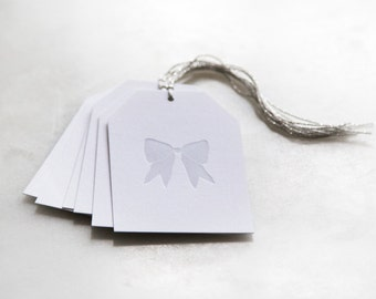 Bow Gift Tags | Set of 6 | Howl Paper Studio