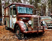 1930s Mack Truck Semi Photograph